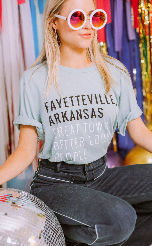 charlie southern: great town t shirt - fayetteville