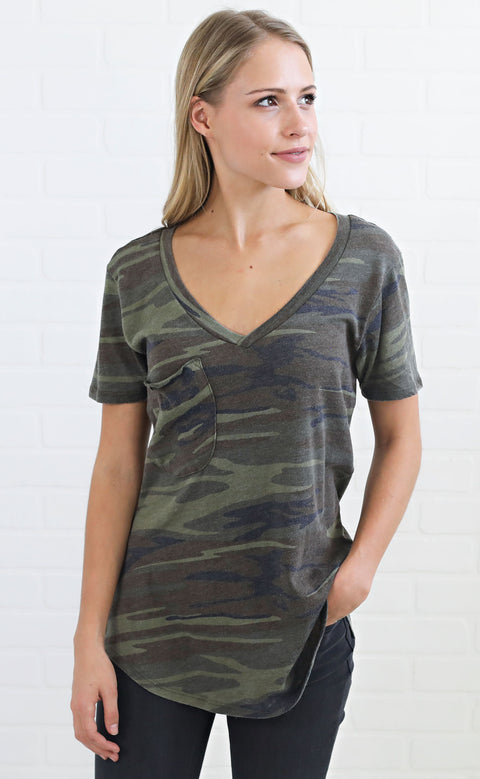 z supply: the pocket t shirt - camo