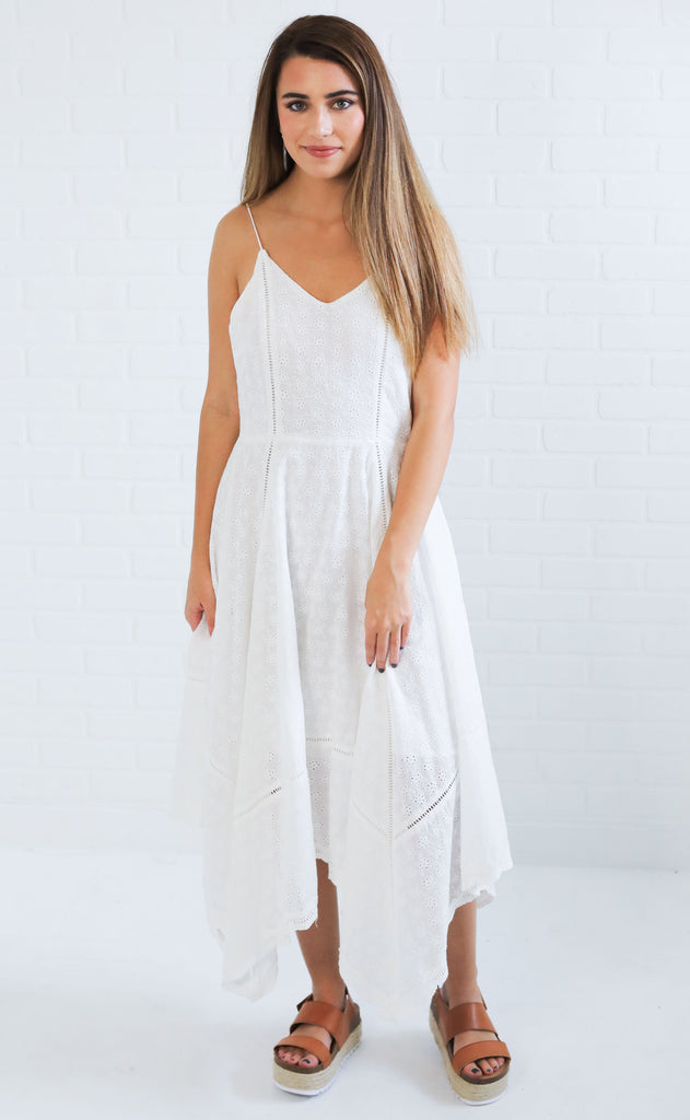 attention to detail maxi dress
