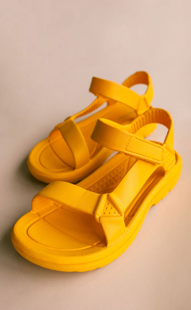 on the go sandals - marigold