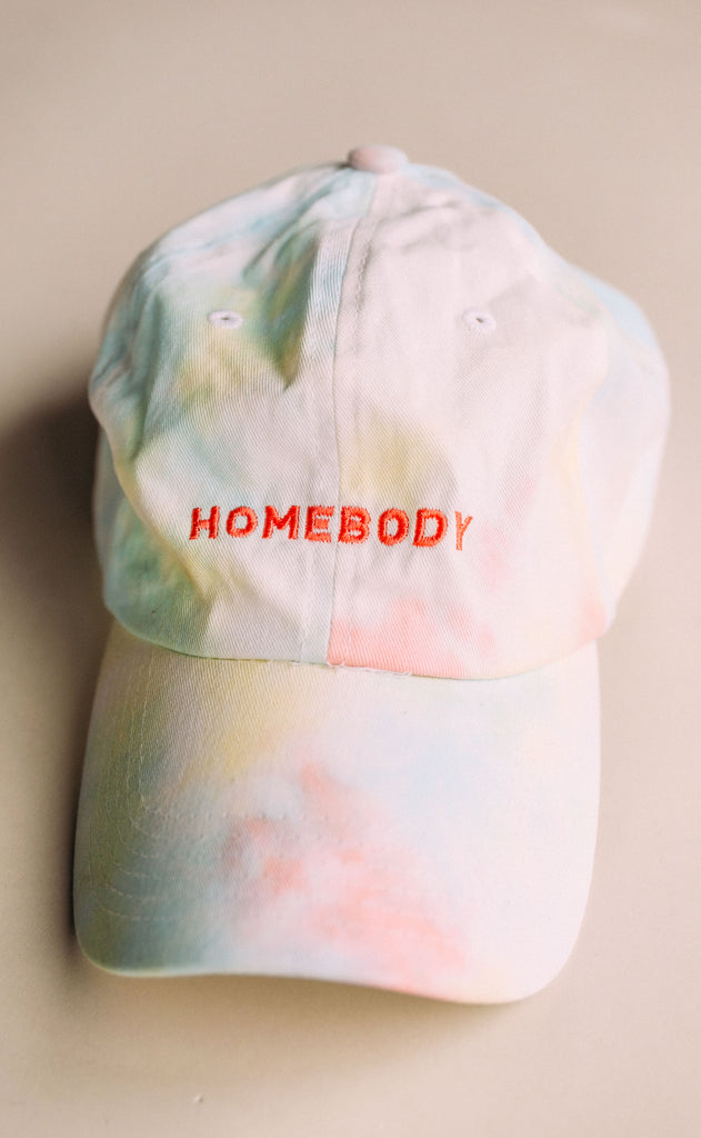 friday + saturday: homebody tie dye hat