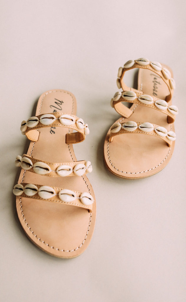 matisse: resort sandal - tan