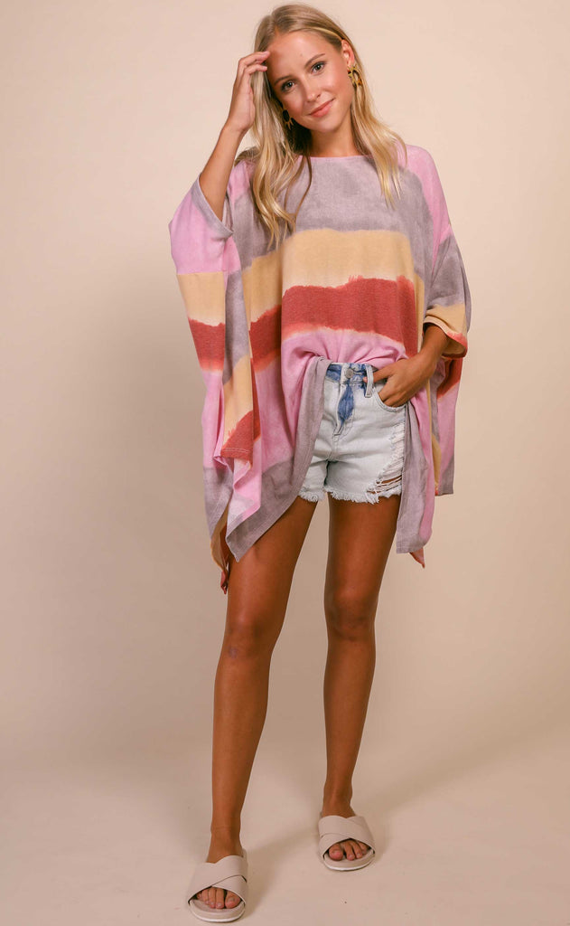 sunset oversized relaxed tee
