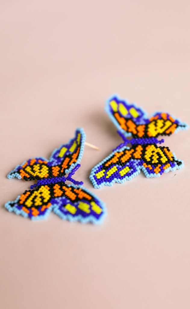 treasure jewels: mariposa earrings - fiesta