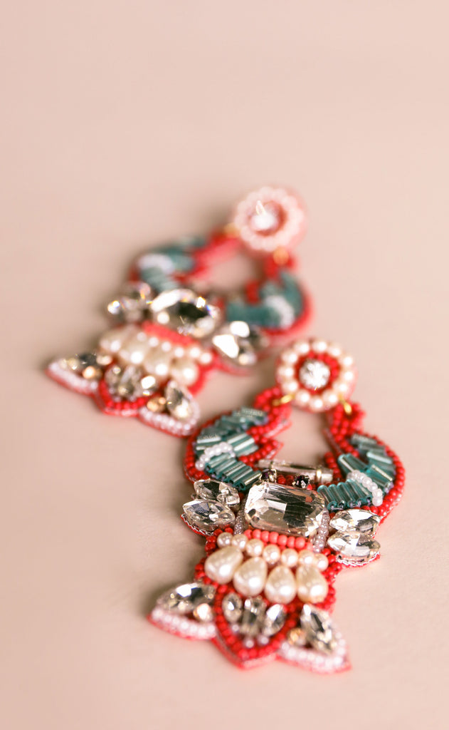 treasure jewels: lobster earrings