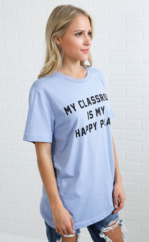 charlie southern: my classroom is my happy place t shirt
