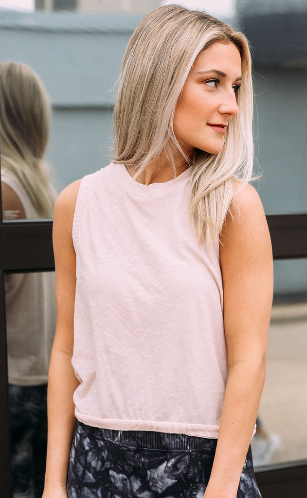 free people movement: love tank - taupe
