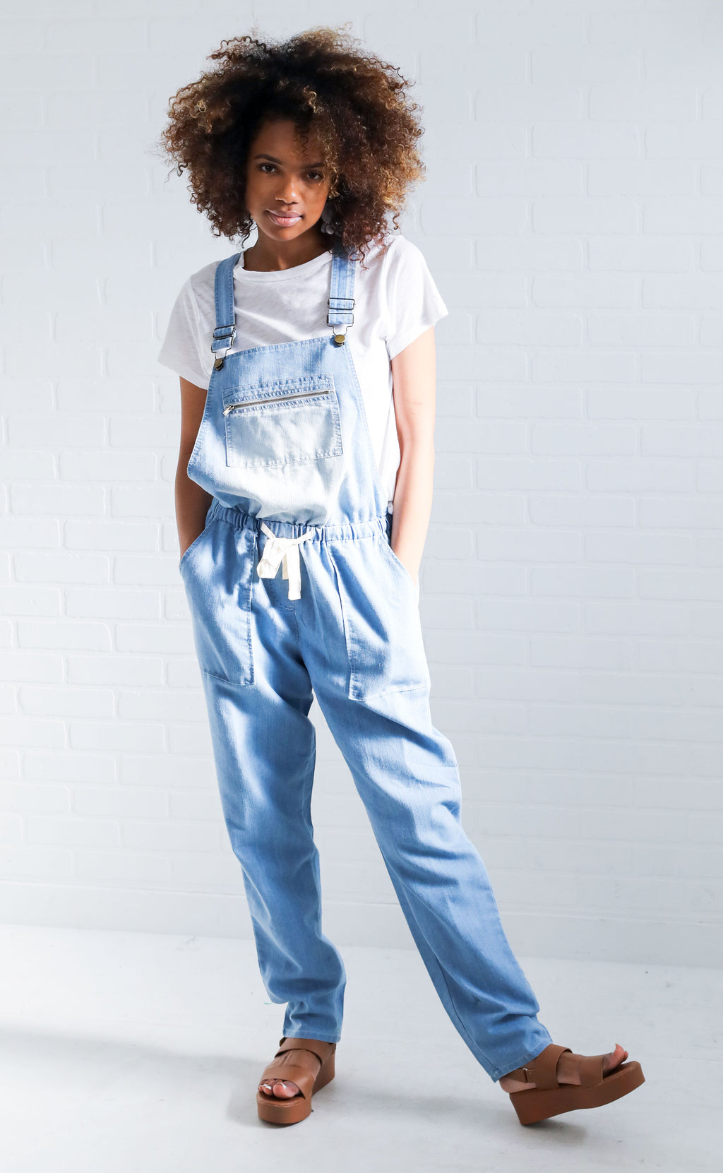forever young denim overalls