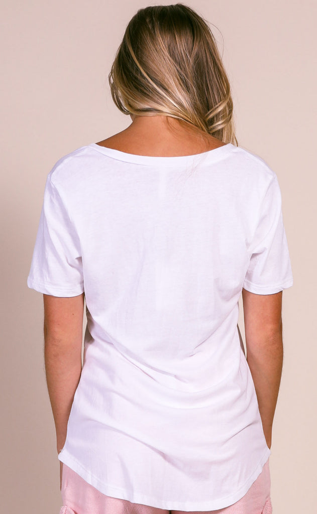 z supply: the pocket tee - white