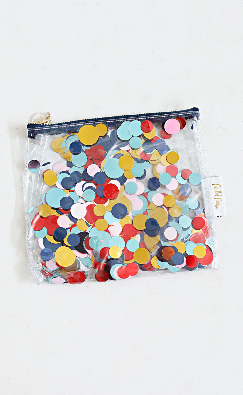 packed party: throw confetti pouch