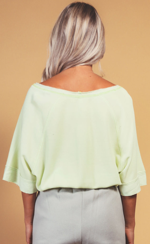 free people movement: main squeeze tee - lime