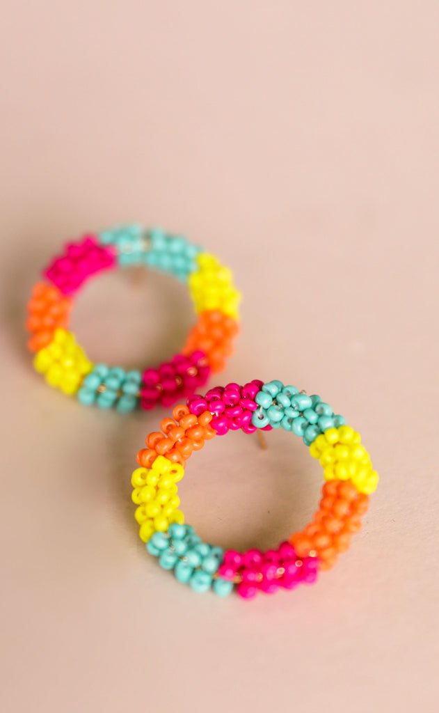 treasure jewels: camille earrings - multi