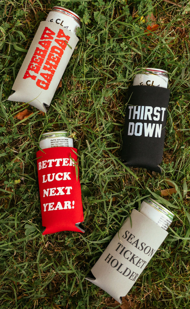 charlie southern: gameday drink sleeve variety pack
