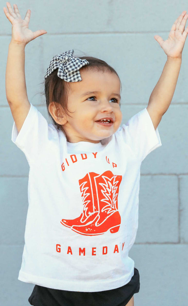charlie southern: giddy up gameday toddler t shirt