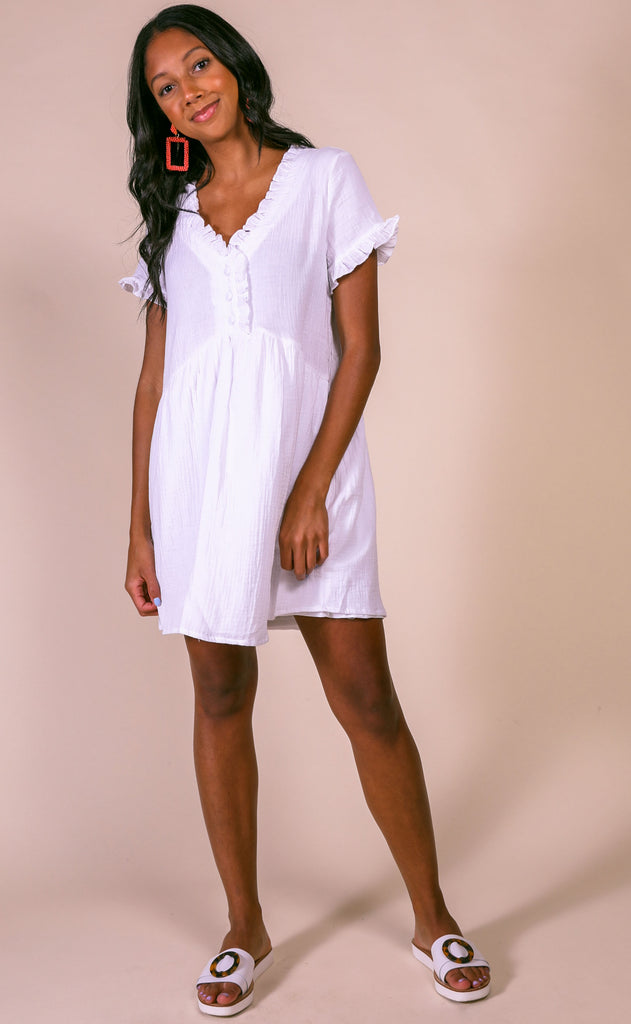 summertime magic babydoll dress