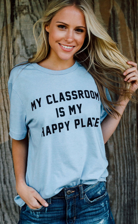charlie southern: my classroom is my happy place t shirt (pre-order)