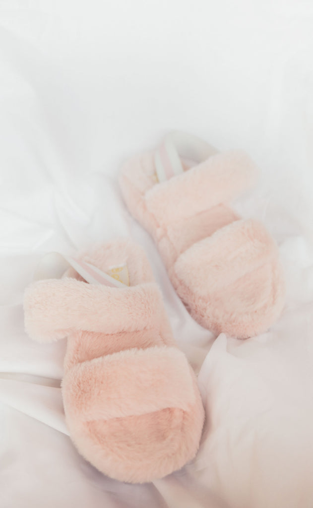 knock out slipper - pink