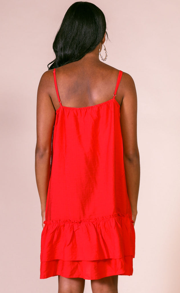cherry on top ruffle dress