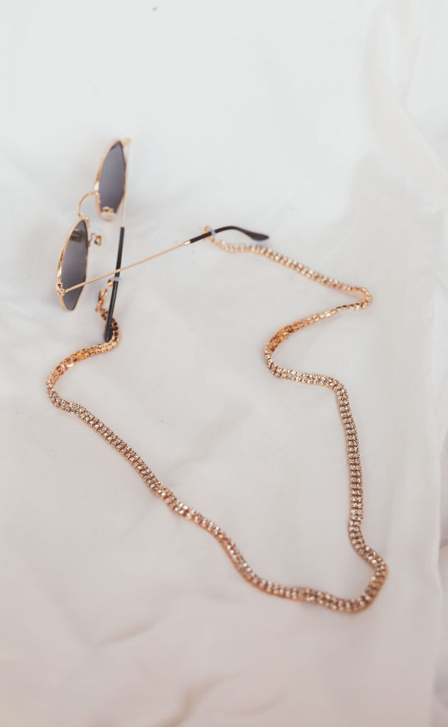 glam sunglasses chain