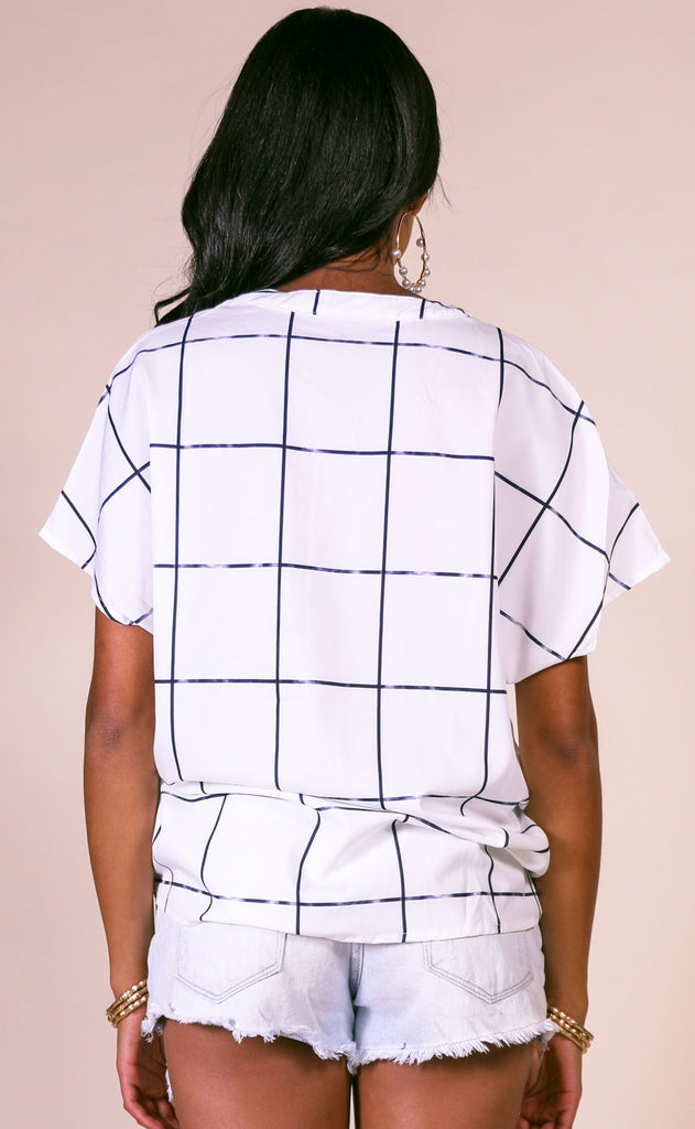 better checker button up top