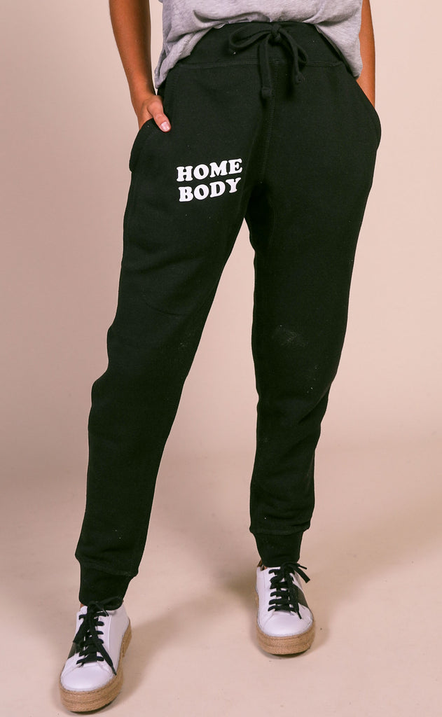 friday + saturday: home body joggers