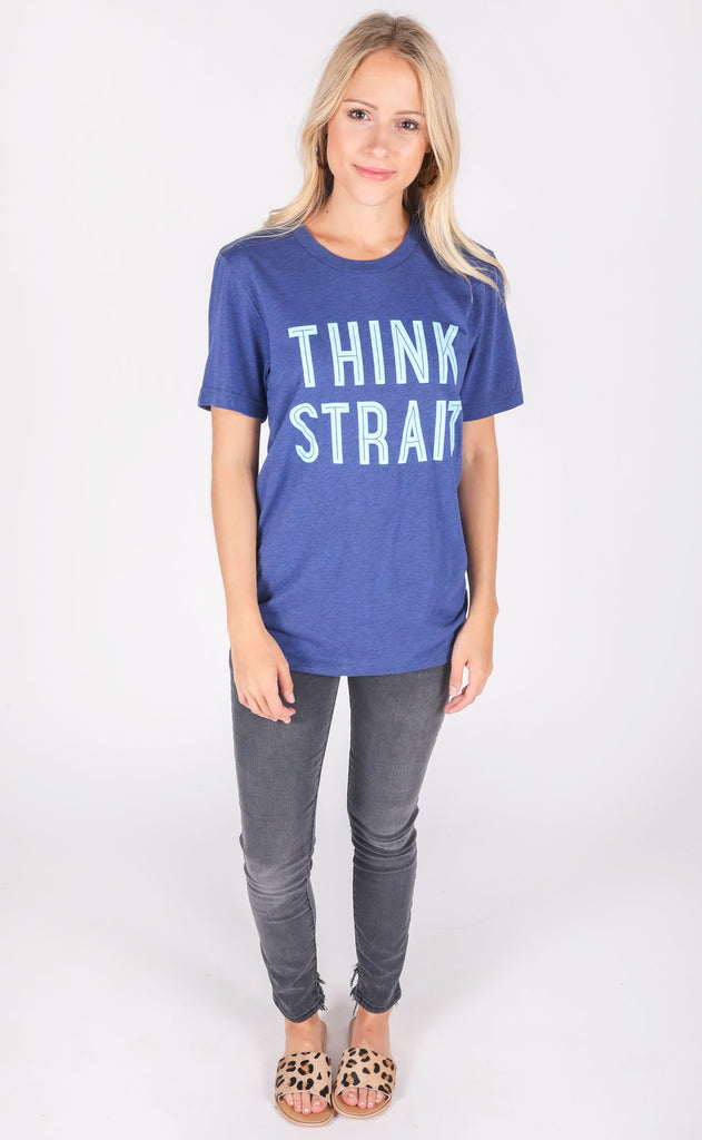 charlie southern: think strait t shirt