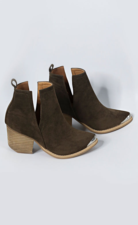 up to date cutout bootie