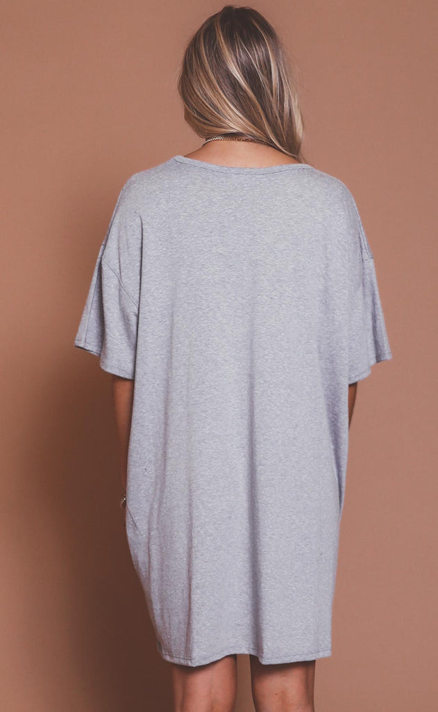 lounge in this oversized tunic