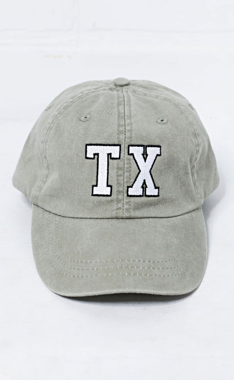 charlie southern: texas outline hat - green