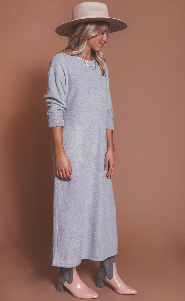 just float on midi dress