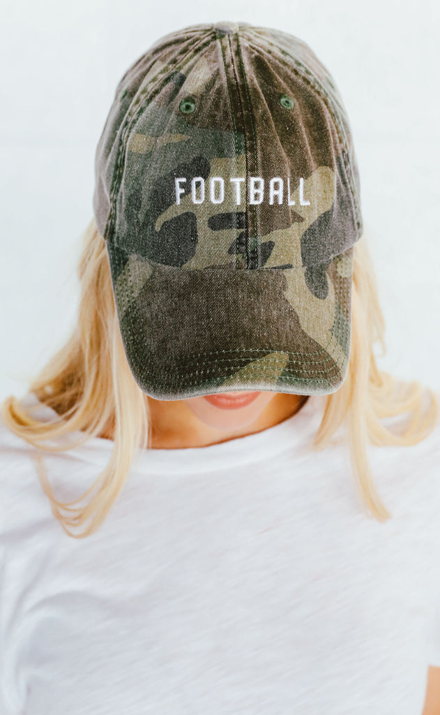 charlie southern: football hat - camo