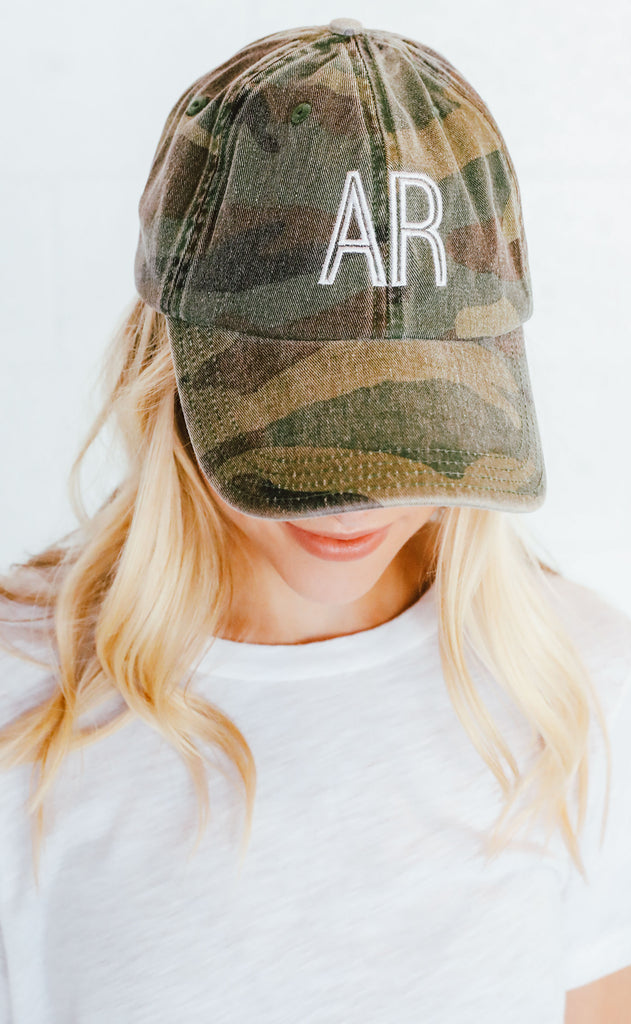 charlie southern: retro state hat - arkansas [camo]