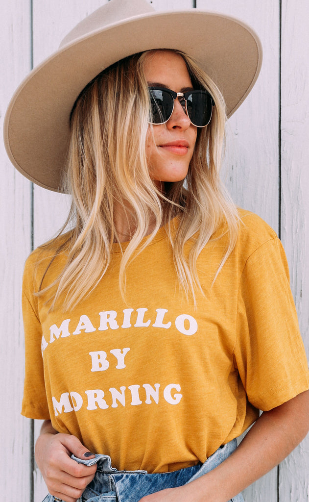 charlie southern: amarillo by morning t shirt