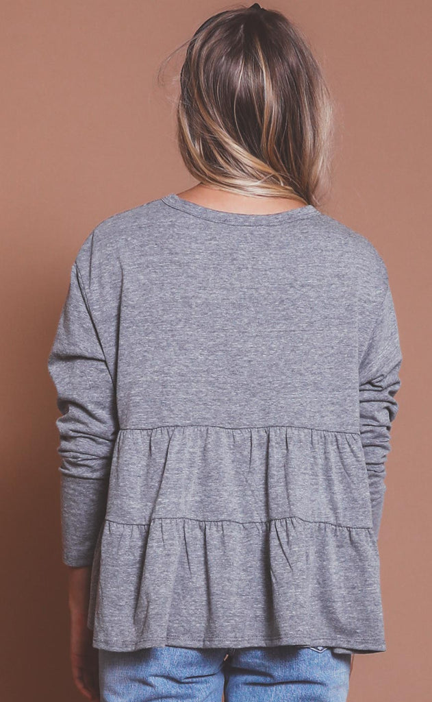 frill of it knit top