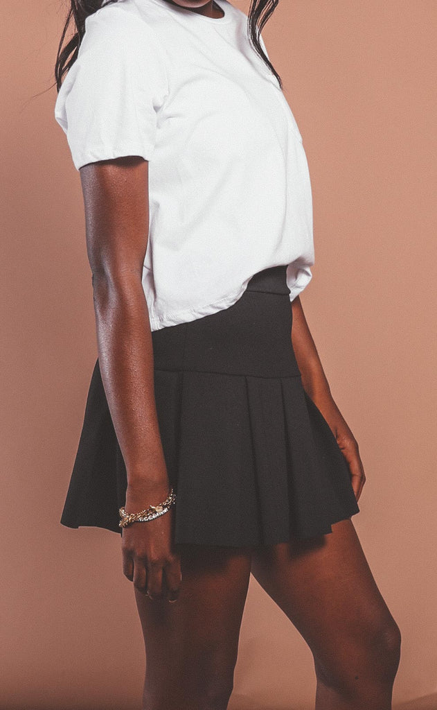 perfect match tennis skirt - black