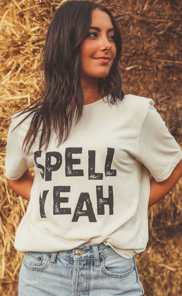 charlie southern: spell yeah t shirt