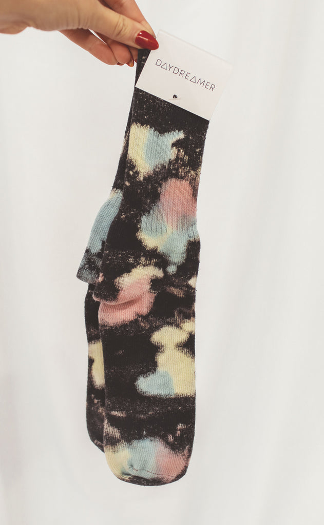 daydreamer: color pop tie dye socks