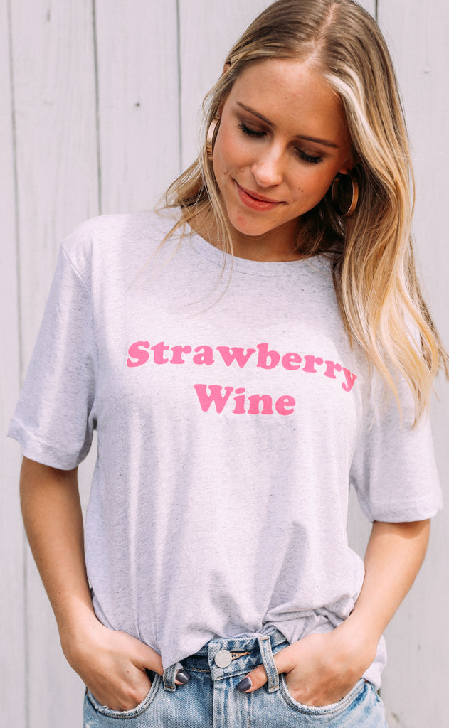 charlie southern: strawberry wine t shirt