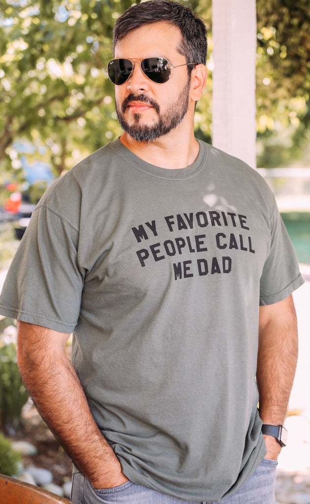 charlie southern: my favorite people call me dad t shirt