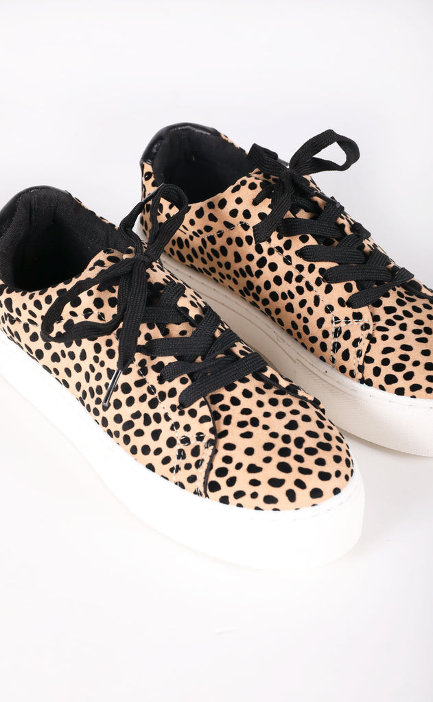 solemates chunky sneaker - cheetah