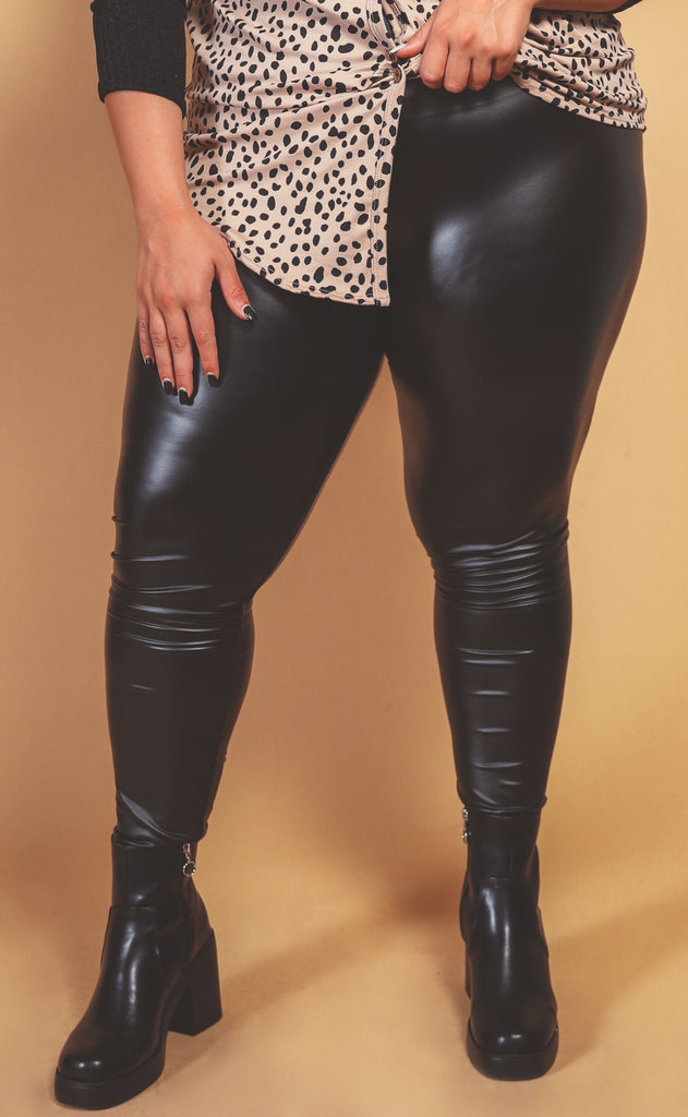 let's get together faux leather legging - extended