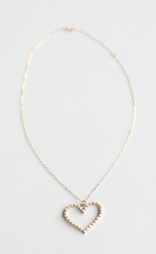 truly blessed: be loved necklace
