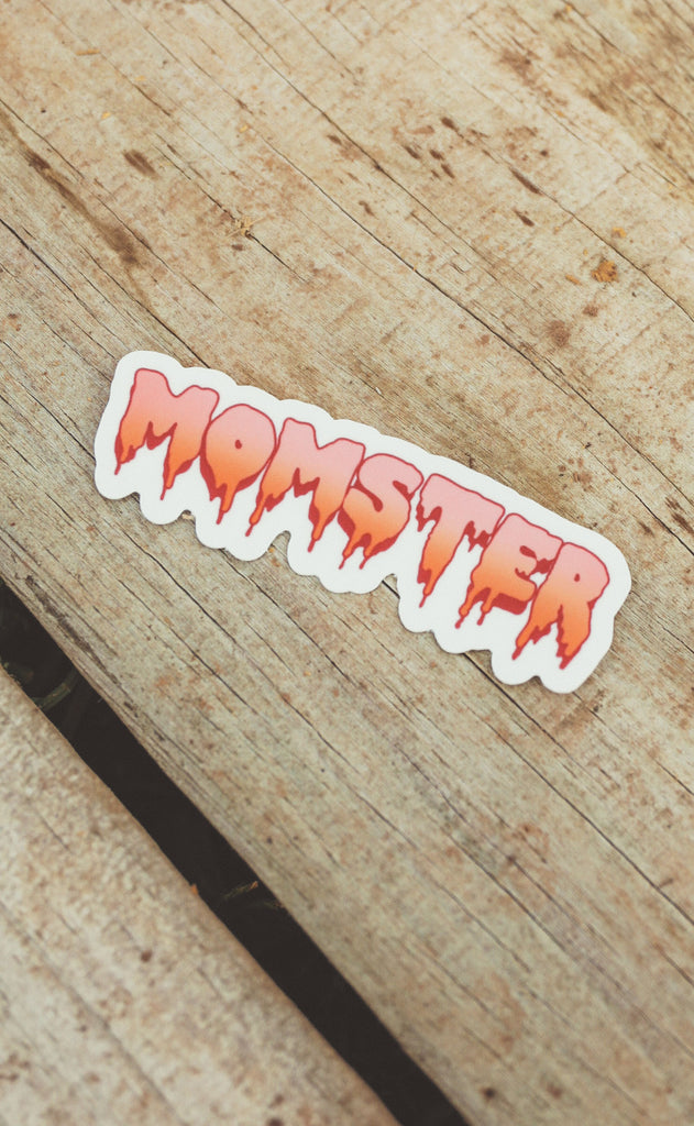 momster sticker