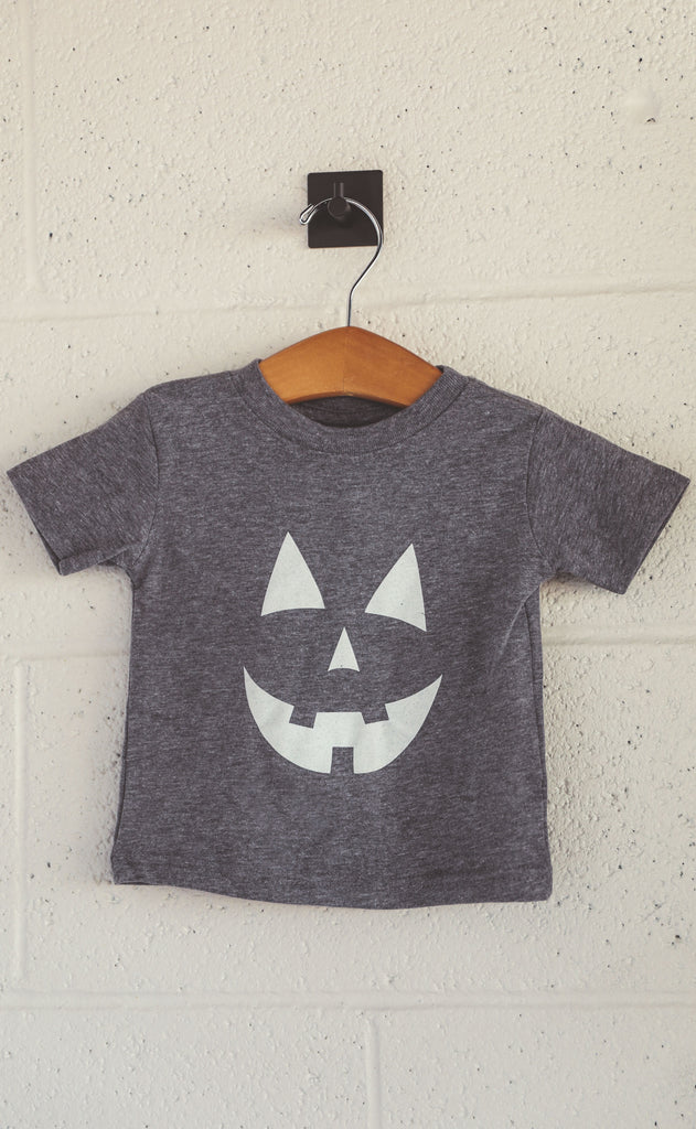 charlie southern: jack-o-lantern glow in the dark baby tee