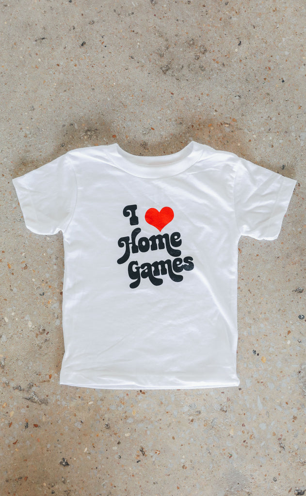 charlie southern: i heart home games toddler tee