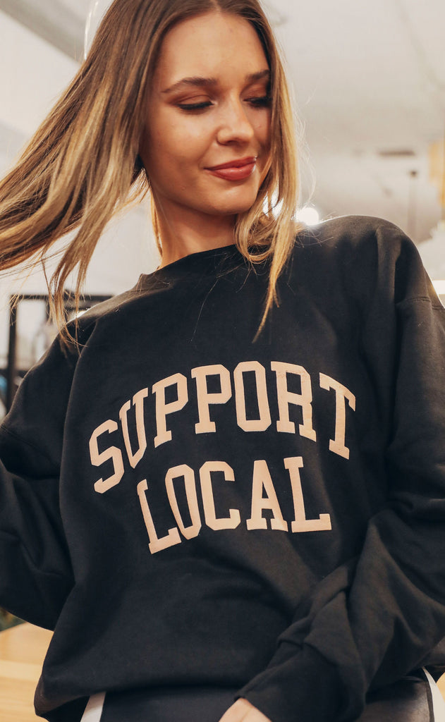 charlie southern: support local sweatshirt
