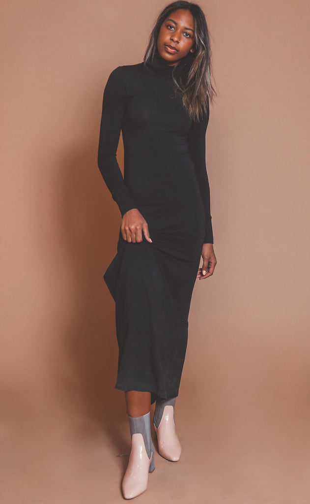 night cap midi dress
