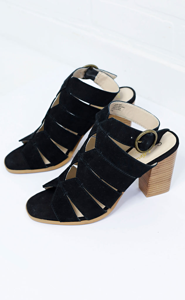 seychelles: completely engaged heel - black