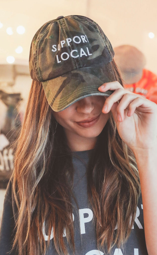 charlie southern: support local hat - camo