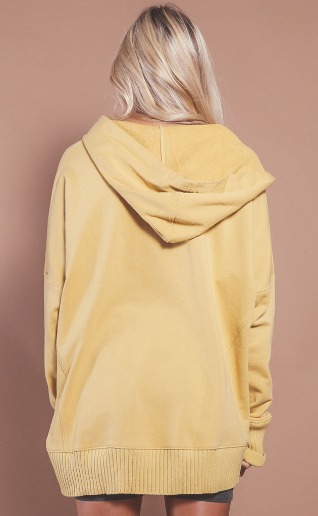 sunny day oversized hoodie